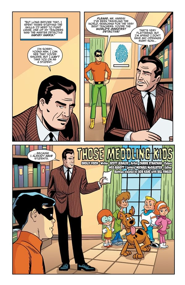 Interior preview page from BATMAN & SCOOBY-DOO MYSTERIES #6 (OF 12)
