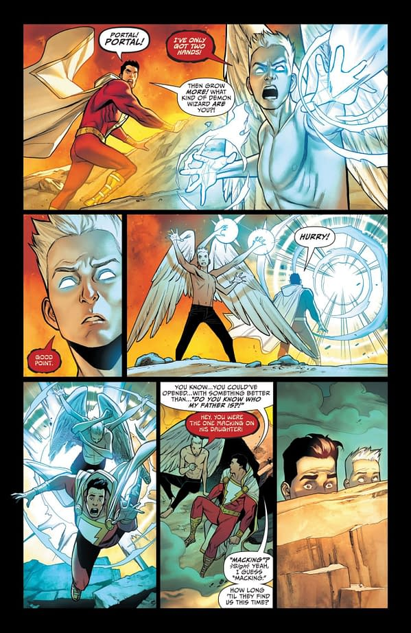 Interior preview page from SHAZAM #3 (OF 4) CVR B FICO OSSIO CARD STOCK VAR